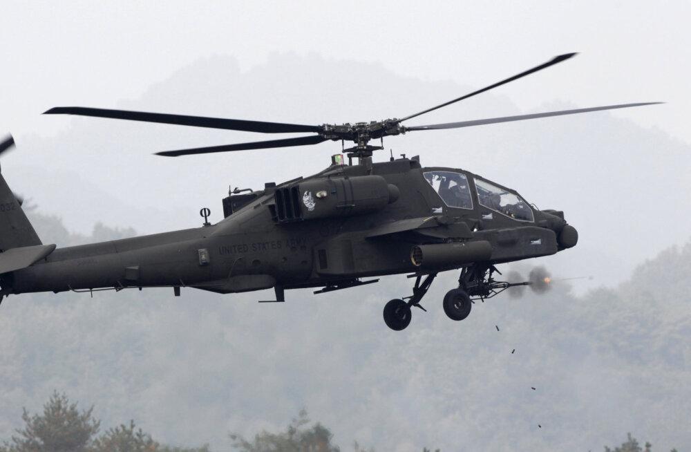 USA armee peab mutriprobleemi tõttu kõik oma ründehelikopterid üle vaatama