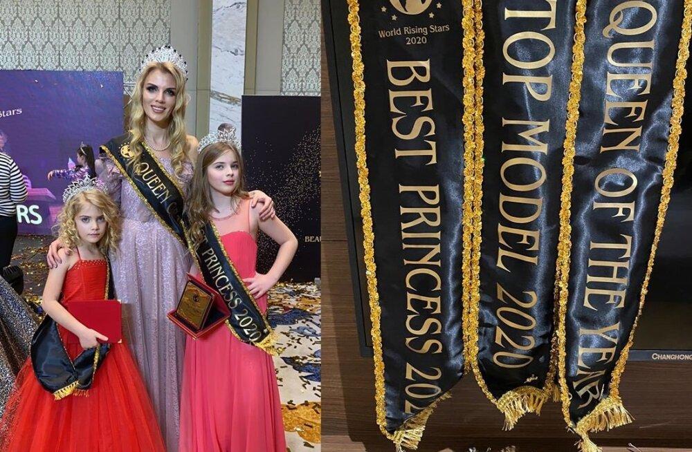 Сразу три эстонские модели удостоены титулов на международном конкурсе в Грузии