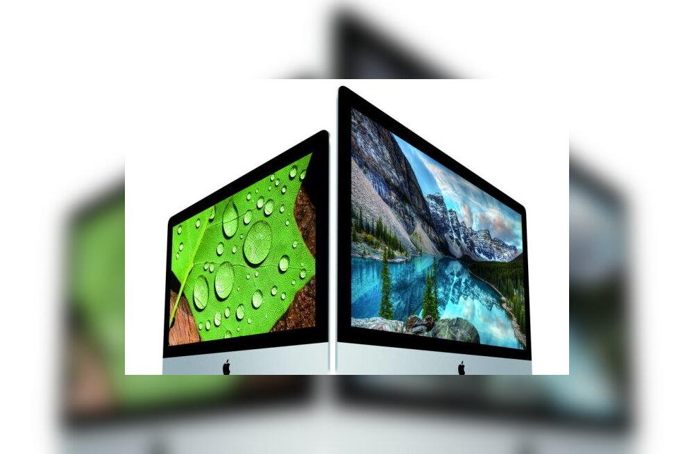 """Apple'i uusimad iMac-arvutid toetavad nüüd senise 16 miljoni asemel """"miljardeid"""" värve"""