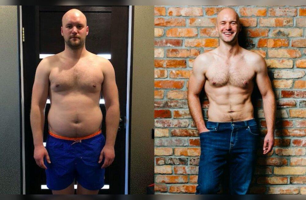 Jaan paljastab, kuidas kaotas kiiresti ja lihtsalt 15 kg. Võta kaalust alla nagu Jaan!