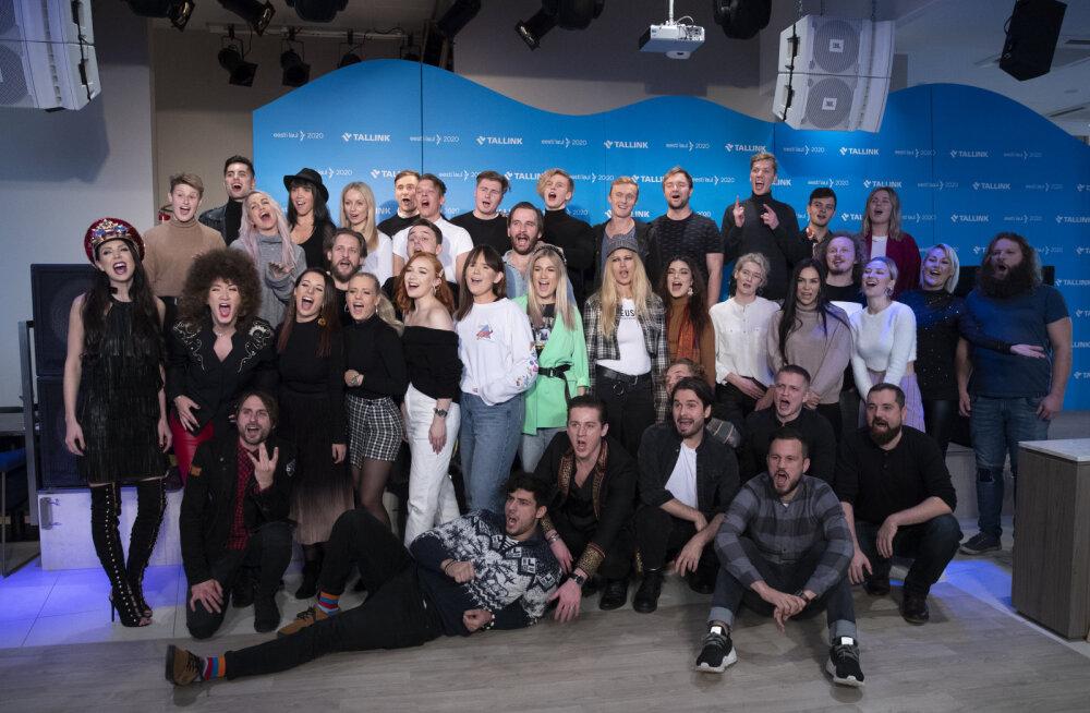 Selgus käes! Eesti Laul avalikustas poolfinaalide koosseisud