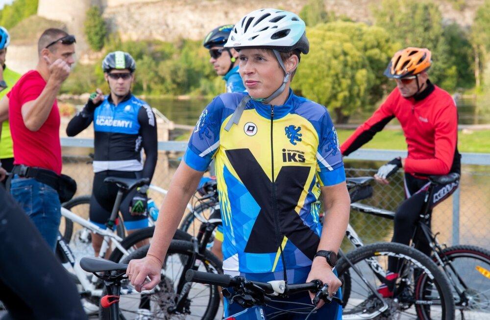 President Kaljulaidi rattatuur Narvas