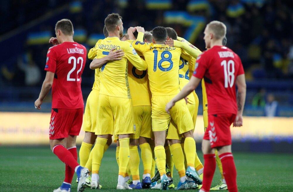Ukraina vs Leedu