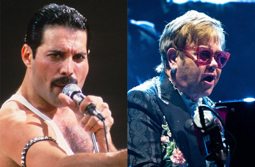Elton John meenutab äärmiselt liigutavalt lugu Freddie Mercury viimastest päevadest