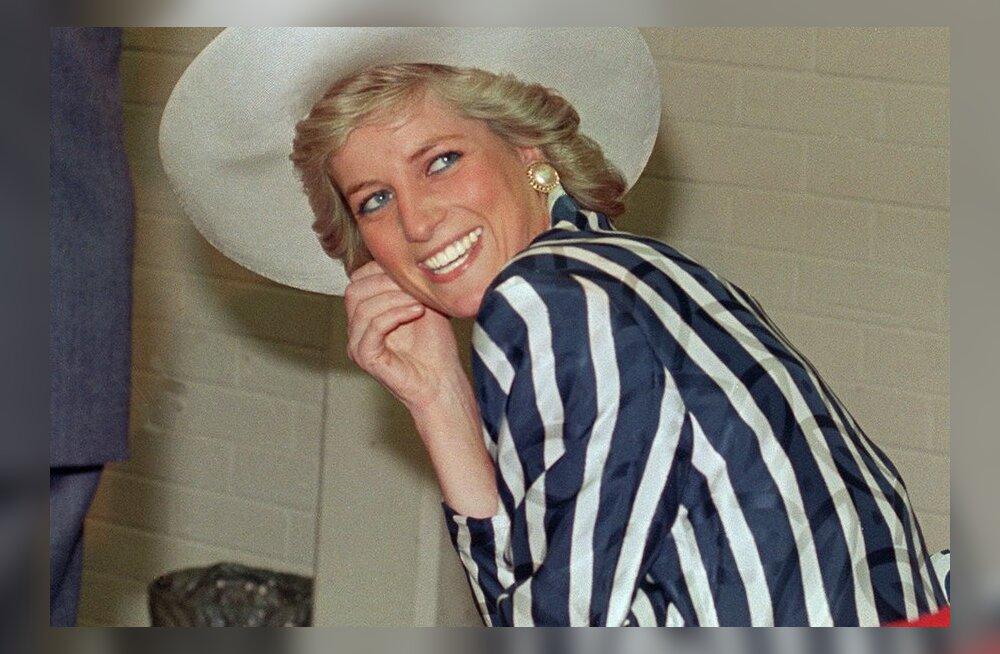 """Haruldane nooruspõlve FOTO printsess Dianast märkega """"Mitte avaldamiseks"""" müüdi oksjonil 18 000 naelaga!"""