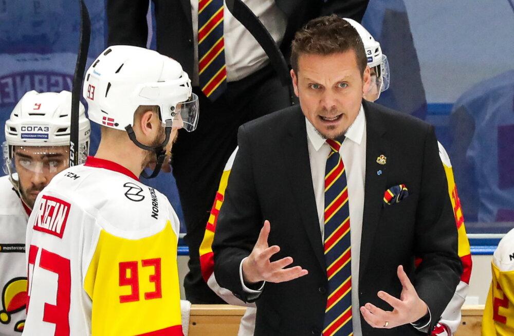 KHL TALLINNAS | Suurepärases hoos Helsingi Jokerit pikendas võiduseeria viiemänguliseks ning on kerkinud esikolmiku kannule, Tšerepovets kaotas lisaajal liidrile