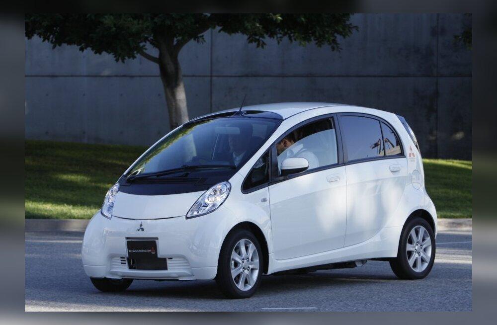 Eesti kõige säästlikum auto: Mitsubishi i-MiEV!