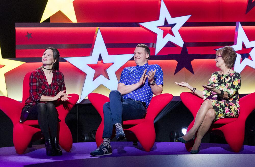"""TREILER   """"Suure tähe väike täht"""" saates astuvad täna võistlustulle Reet Linna, Evelyn Mikomägi ja Rauno Märks"""