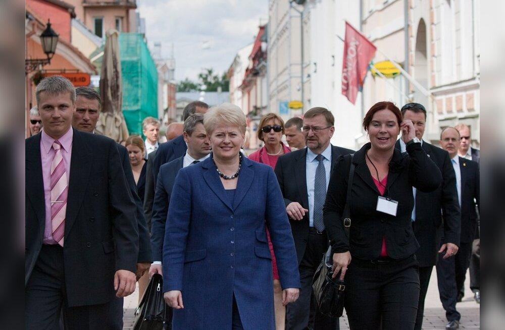 Грибаускайте: только один газовый терминал для трех стран Балтии — большой риск