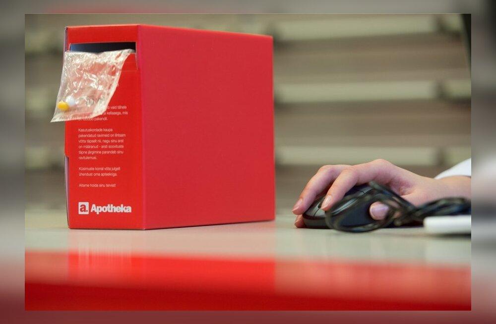 Apotheka on täna ainus Eesti e-apteek.