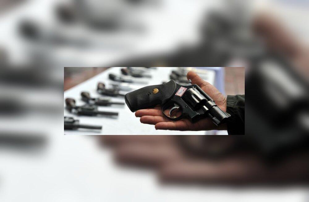 Soome politsei unustas kolimisel kapitäie relvi maha