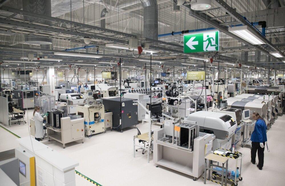 Éolane Tallinn AS elektroonikatööstuse uue tehase avamine