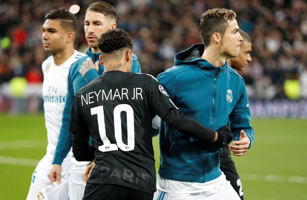 Neymar ja Cristiano Ronaldo.