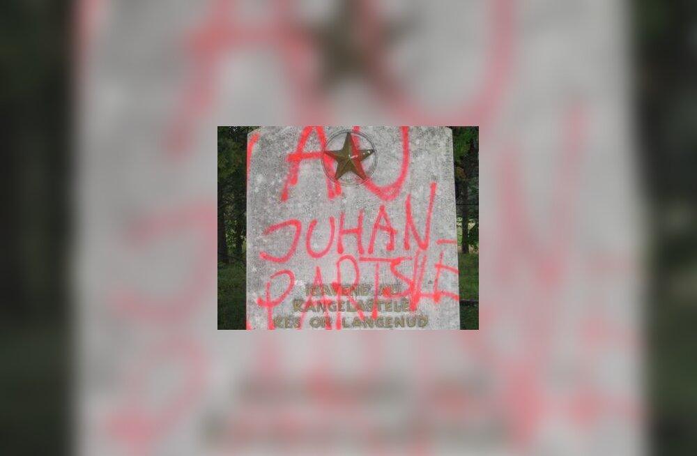 Punaarmee mälestusmärk au Juhan Partsile