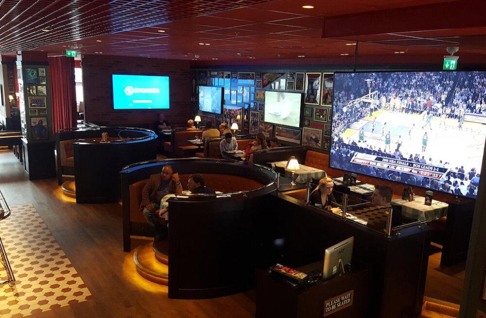Открылся крупнейший в Эстонии спортивный ресторан и центр развлечений