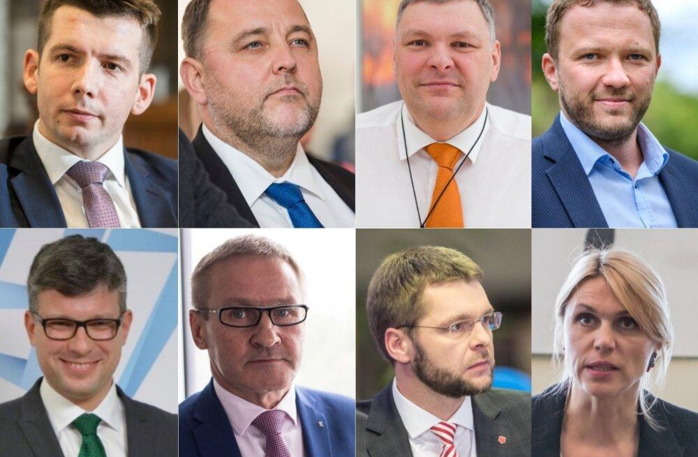 Urve Palo on juba kaheksas minister, kes Jüri Ratase vähem kui kaks aastat ametis olnud valitsusest lahkub