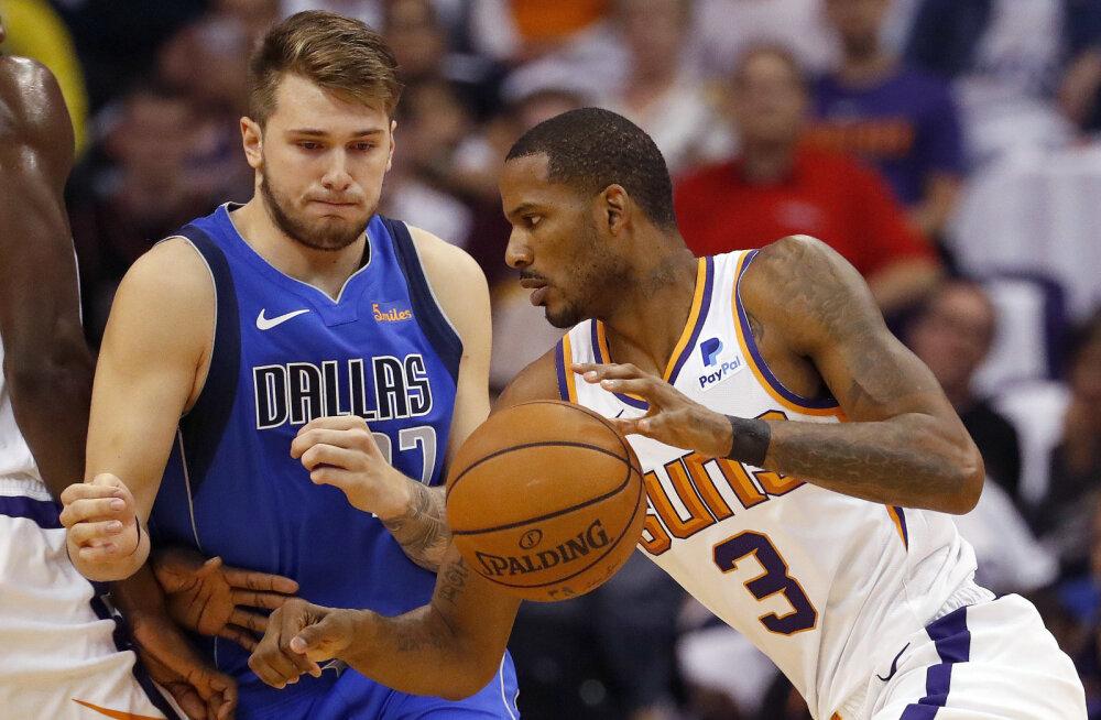 VIDEO | Doncici NBA debüüt lõppes kaotusega, Davis vedas New Orleansi võidule Houstoni üle