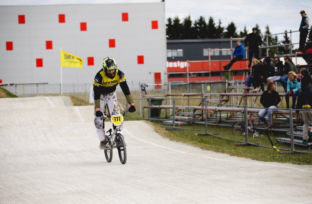 BMX-krossisõidu võistlusi Tallinnas valitses leedulane