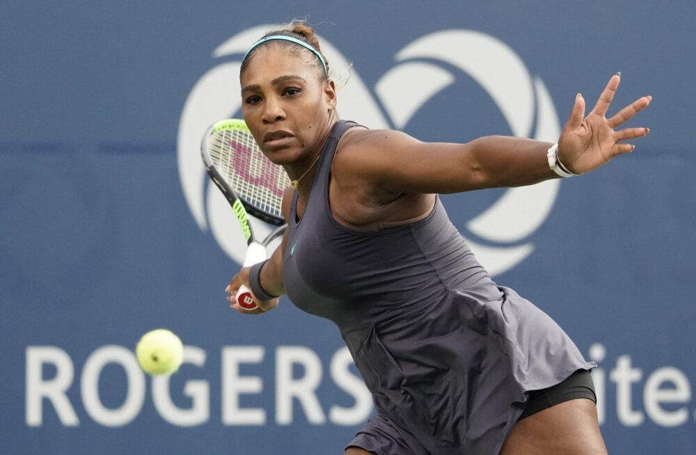 TÄISPIKKUSES | Serena Williams alistas Toronto turniiri poolfinaalis tšehhitarist suurüllataja kolmes setis