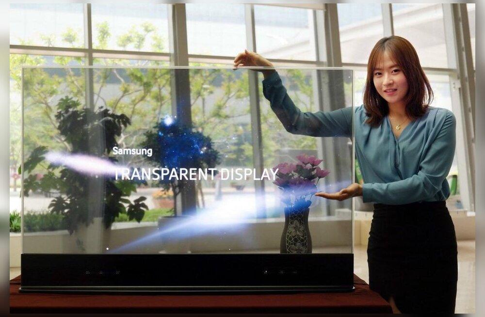"""Samsung leidis teleritehnoloogiate toel mooduse, kuidas nutitelefonidelt """"kulmud"""" ära kaotada"""