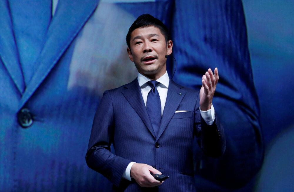 SpaceX paljastas oma esimese ümber Kuu lendaja – selleks saab Jaapani miljardär