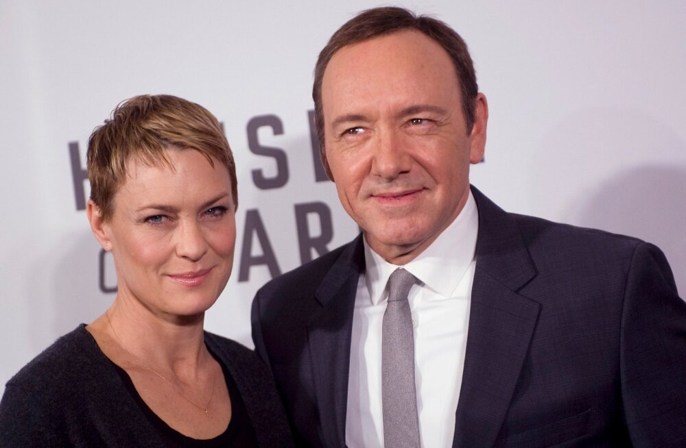 Robin Wright ja Kevin Spacey