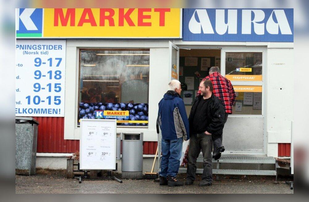 Soome - Norra, piirikaubandus Nuorgam, Utsjoki