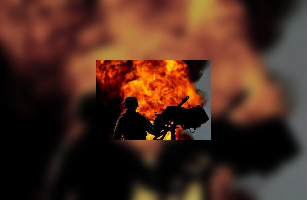 Iraak - naftaväli põleb