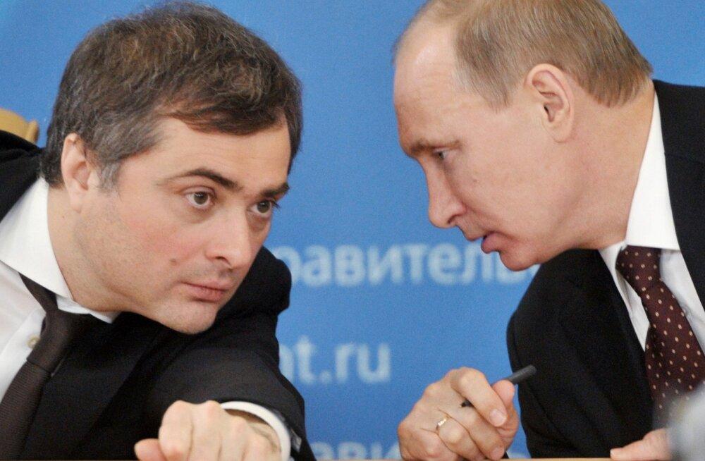 Putini pikaaegne nõunik Vladislav Surkov lahkus ametist