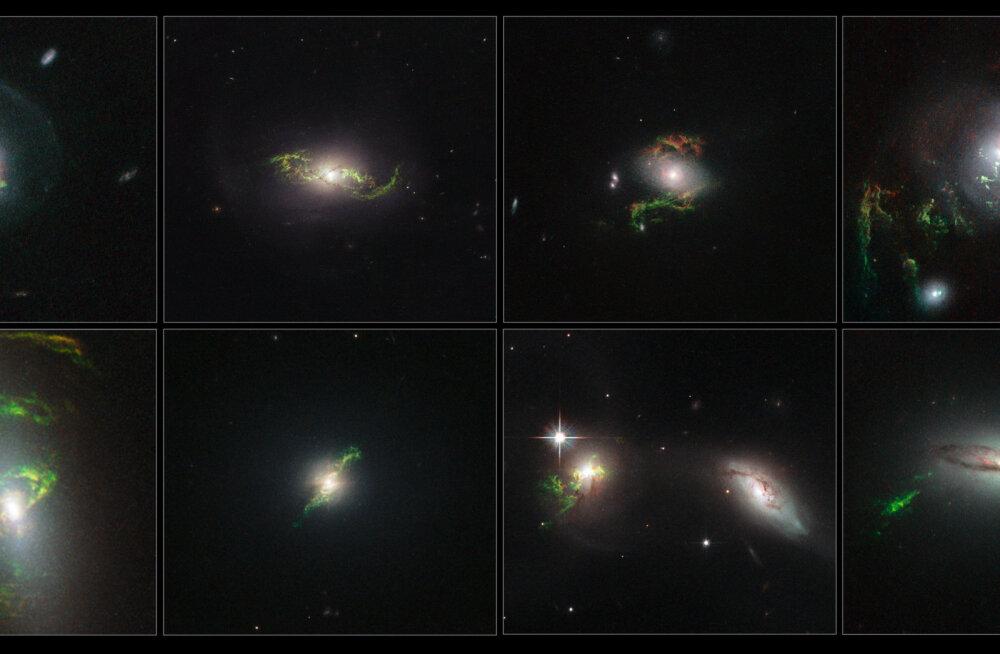 Galaktikatevahelises ruumis leidub ootamatult palju hapnikku