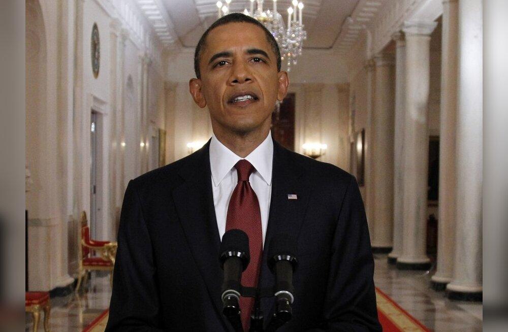 Obama: härra bin Laden hukkus tulevahetuses Pakistanis