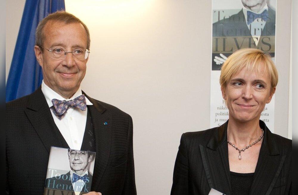 Toomas Hendrik Ilves ja Iivi Anna Masso