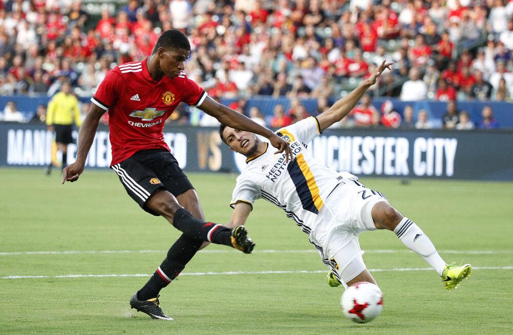 Manchester Unitedi ründaja Marcus Rashford