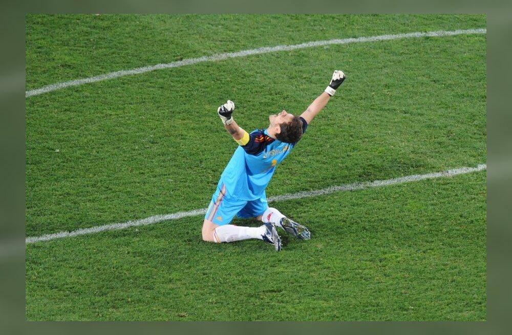 De Gea ja Pele: Casillas on ära teeninud Ballon d`Ori