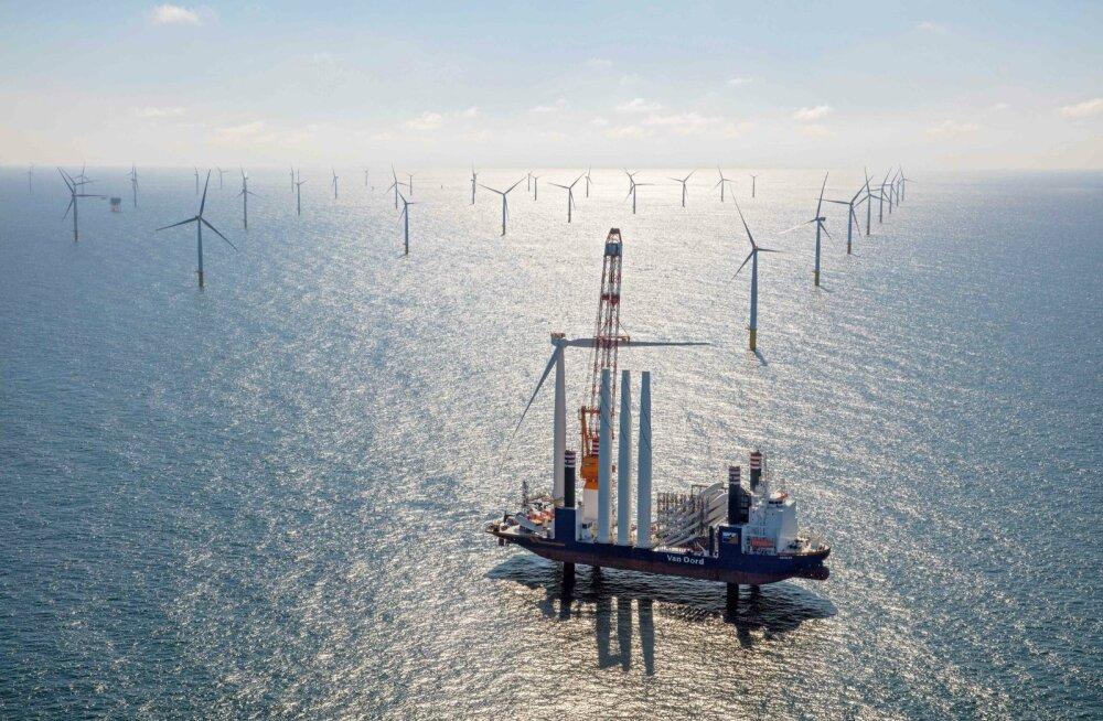 Meretuulepark Hollandi rannikul
