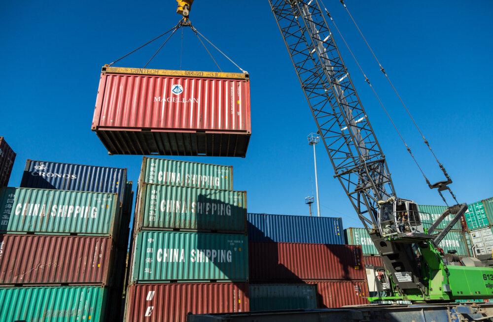 Kaubavahetuse puudujääk oli mullu 1,8 miljardit eurot