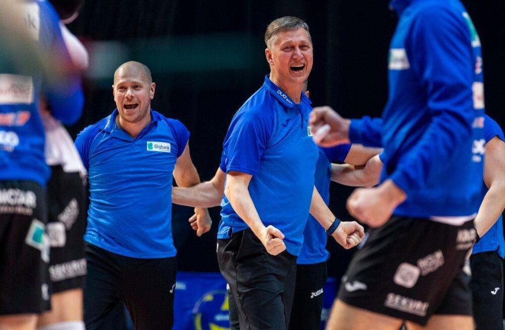Võrkpalli meeste karikafinaal 2019 Tartu Bigbank - Saaremaa VK