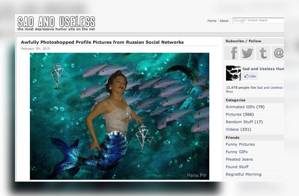 Absurdsed FOTOD: Vaata, kui ajuvabalt töödeldud pilte leiab Vene sotsiaalvõrgustikest