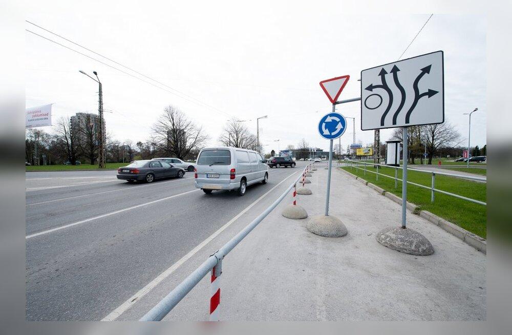 FOTOD: Nendel Tallinna ristmikel ja ringteedel juhtub kõige rohkem liiklusõnnetusi