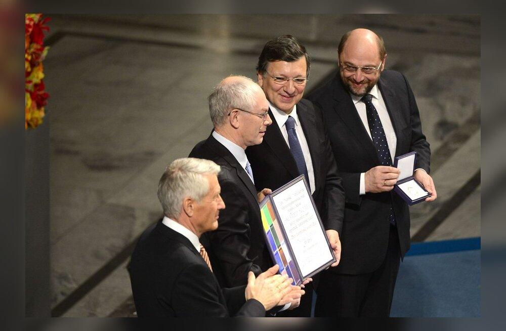 Euroopa Liidule anti kätte Nobeli rahupreemia