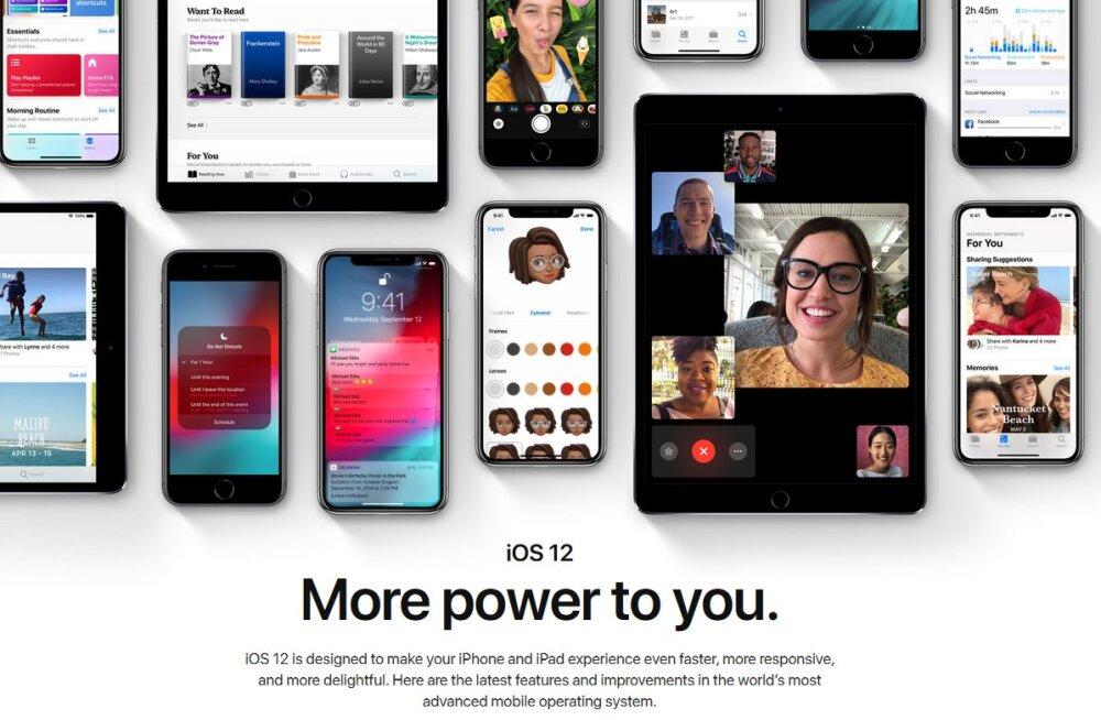 iOS 12 on kohal: Apple'i nutiseadmete opsüsteemi suur uuendus ja mida sellest leida