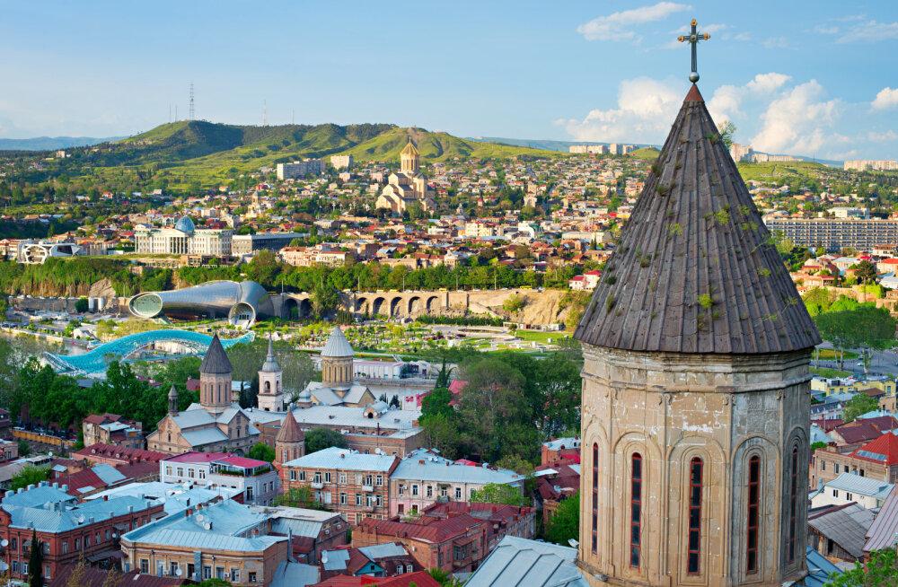 Грузия открывает свои границы для туристов из Эстонии