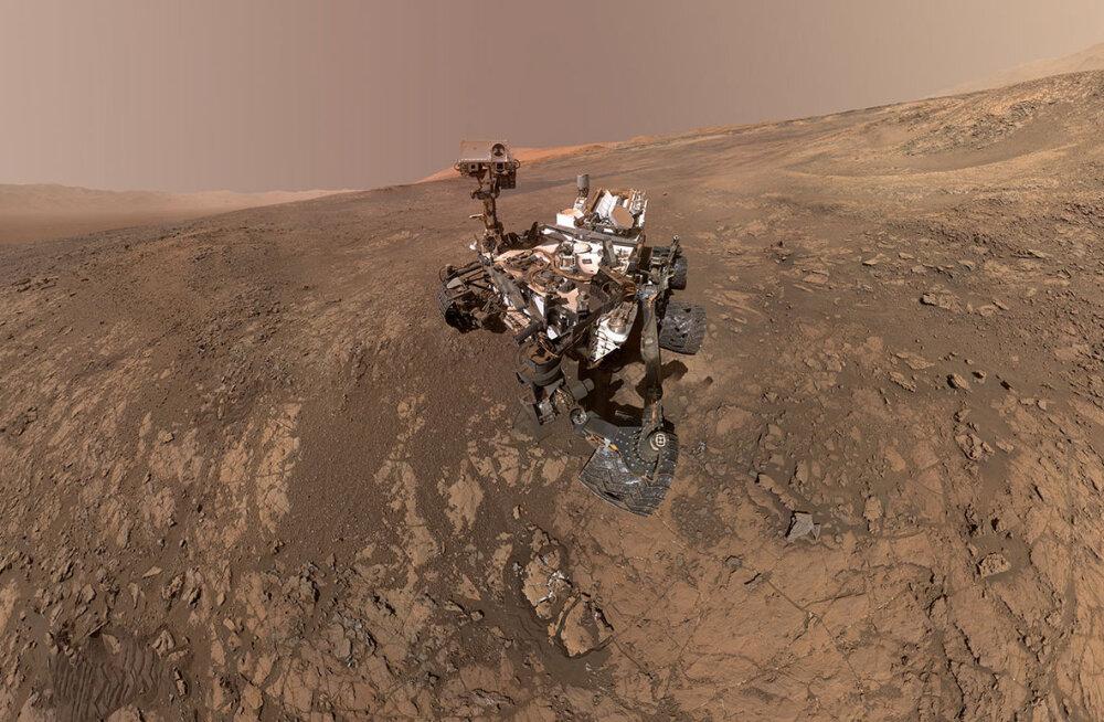 Teadlaste kaval lüke võimaldas neil mõõta Marsi pinnase tihedust