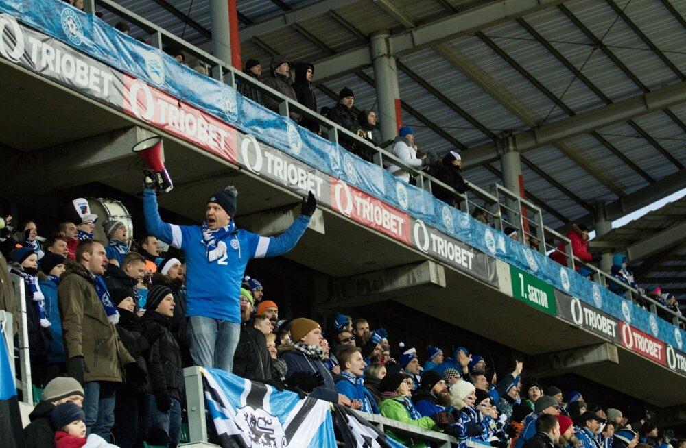 Eesti - Belgia jalgpallimängule on soetatud üle 9000 pileti