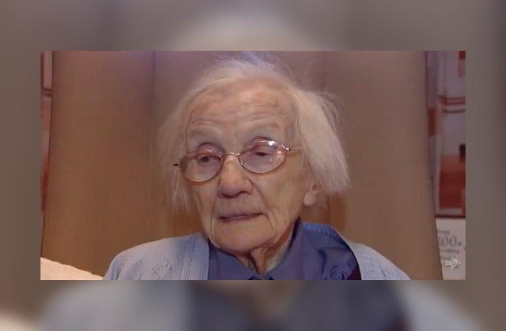 109aastane naine tunnistas, et tema kõrge eluea põhjuseks on meeste vältimine: nendega on rohkem probleeme, kui nad väärt on
