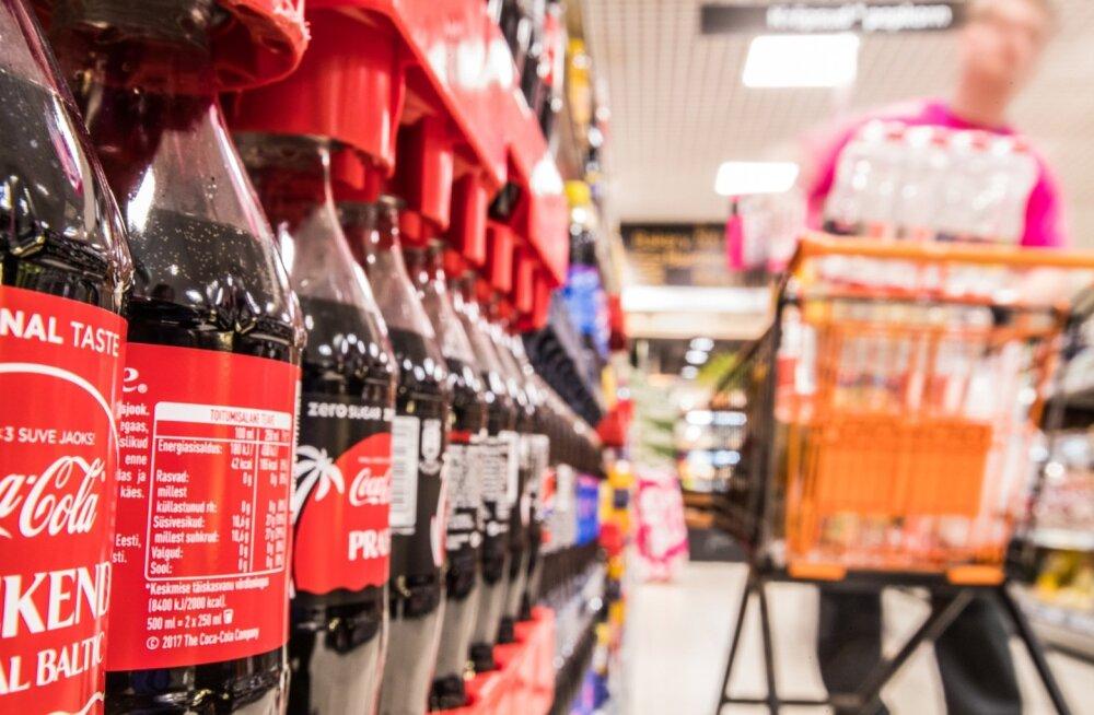 Tavalise Coca-Cola suhkrusisaldus jääb samaks.