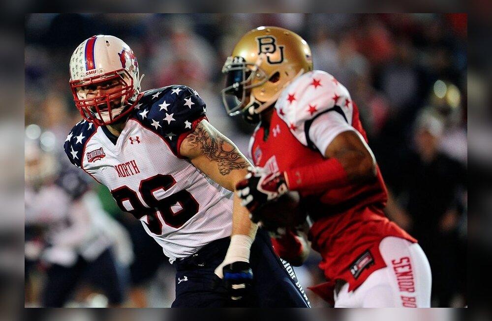 Ekspert: Hunt valitakse NFLi kolmekordse meistri poolt esimeses ringis