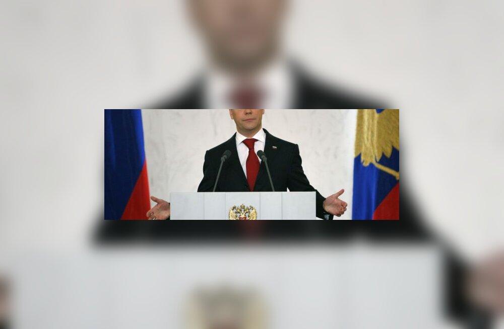 Medvedev soovib ajavööndite arvu kärpida