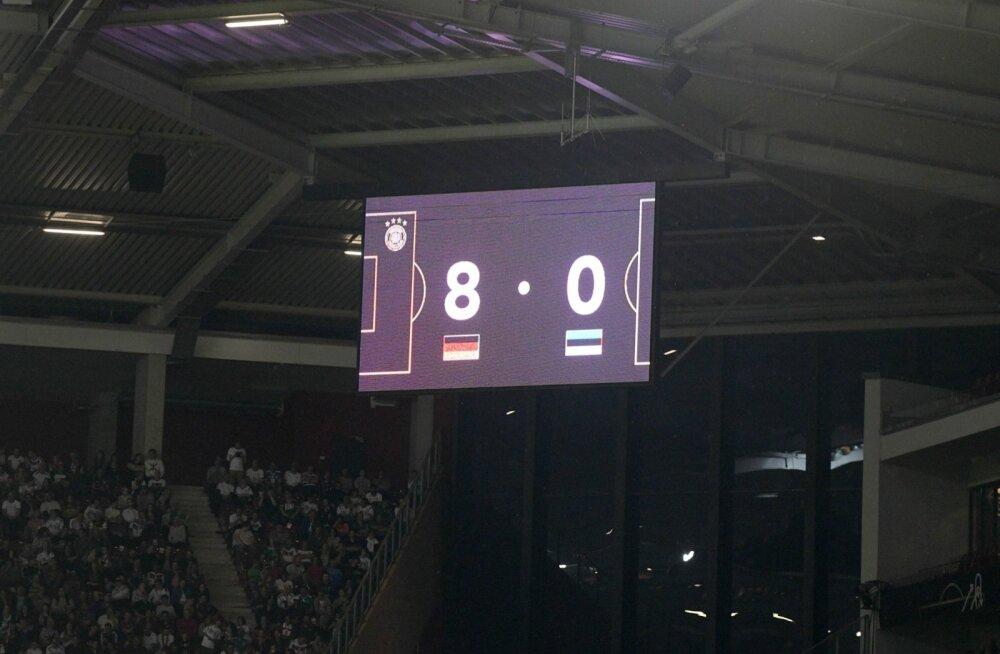 Järjekordne hävitav kaotus sunnib Eesti jalgpallijuhte peeglisse vaatama. Miks läks jälle nii?