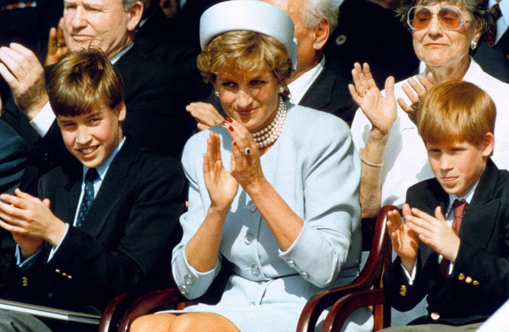 Ei mingit Williamit ja Harry't! Kuninglik perekond soovis printsess Diana poegadele panna hoopis teisi nimesid